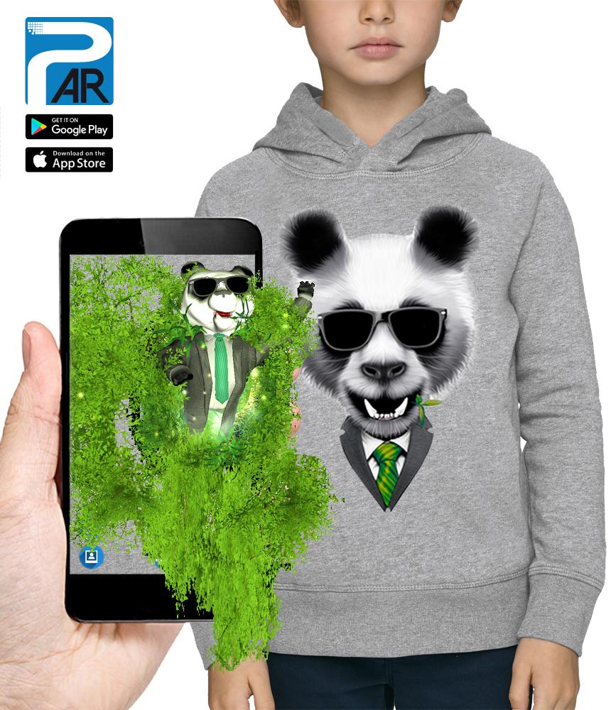 sweat 3D panda star wars réalité augmentée