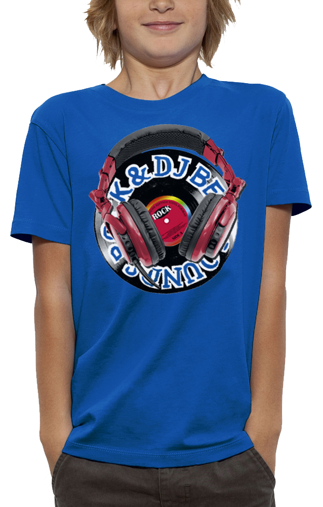 shirt casque dj