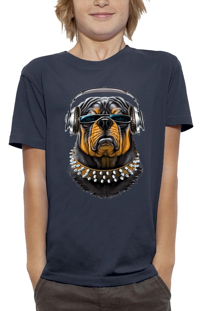 teeshirt ROTTWEILER CASQUE DJ