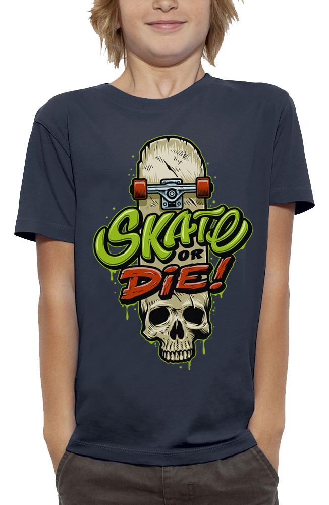 shirt SKATE OR DIE