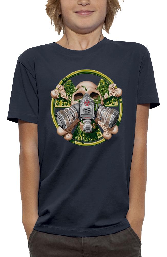 shirt tete de mort nucleaire