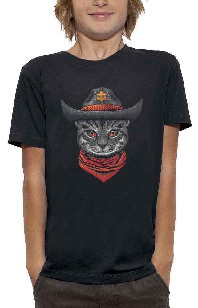 teeshirt CHAT SHERIF