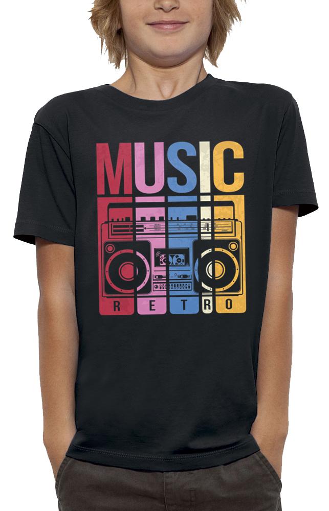 teeshirt MUSIC RETRO