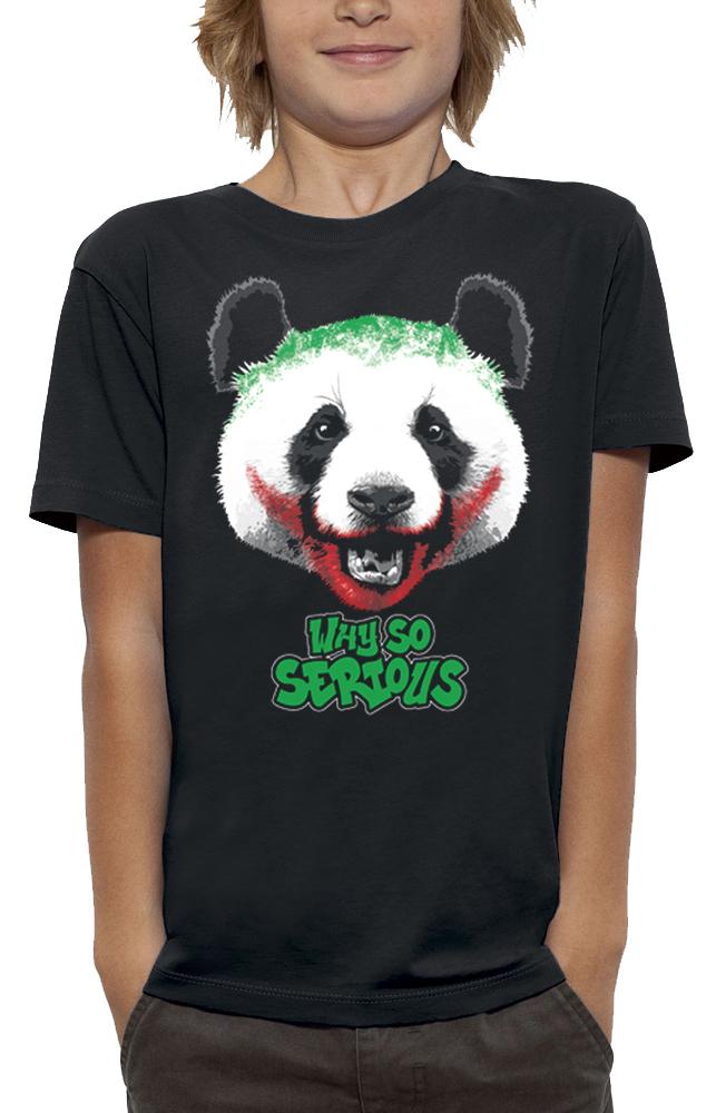 shirt PANDA WHY SO SERIOUS
