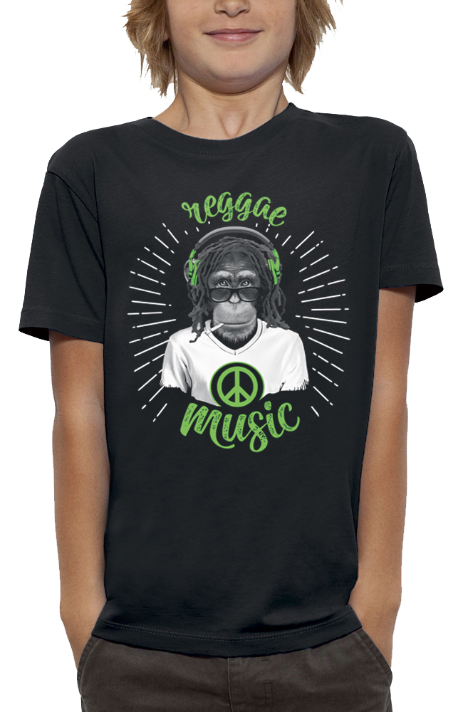 teeshirt SINGE REGGAE MUSIC