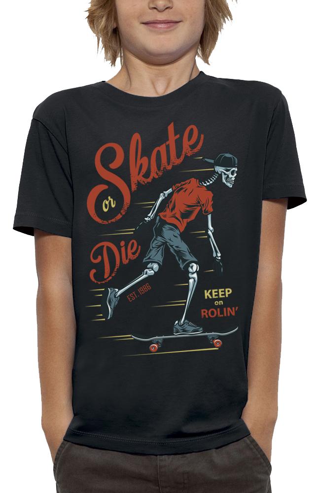 shirt SQUELETTE SKATER