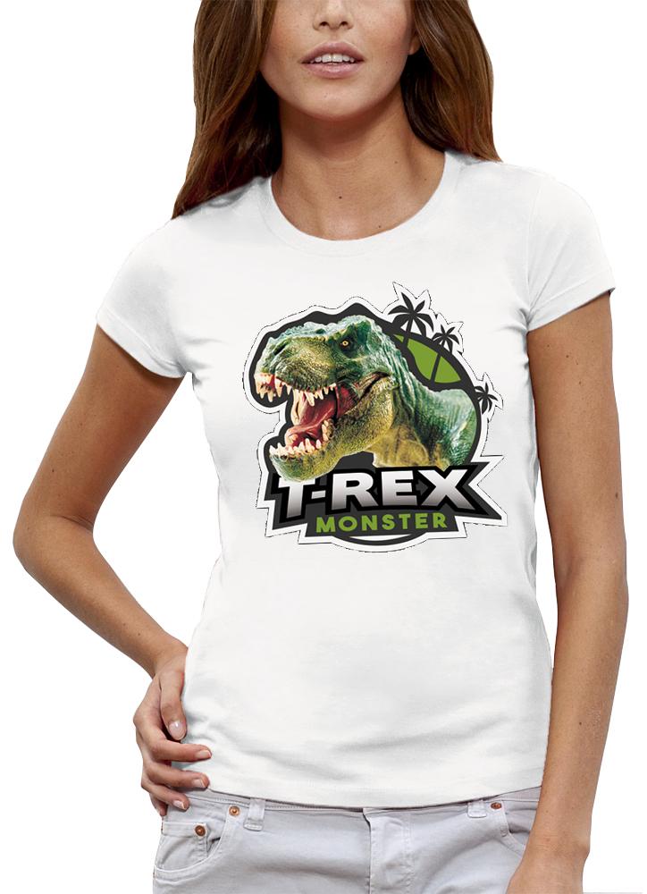 shirt T-REX MONSTER