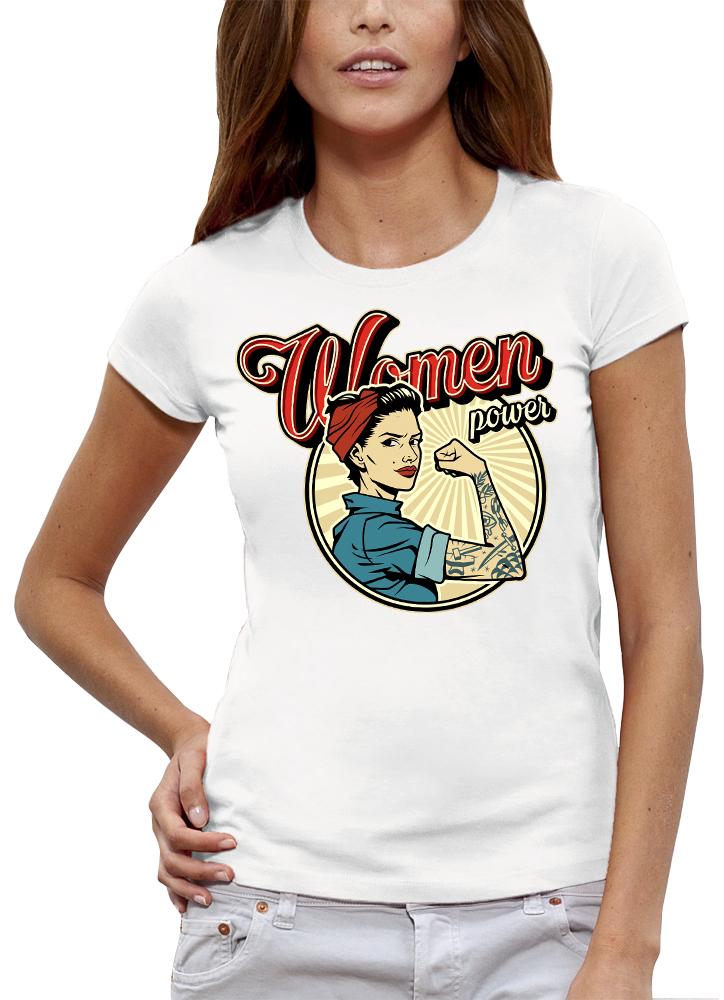 shirt WOMEN POWER