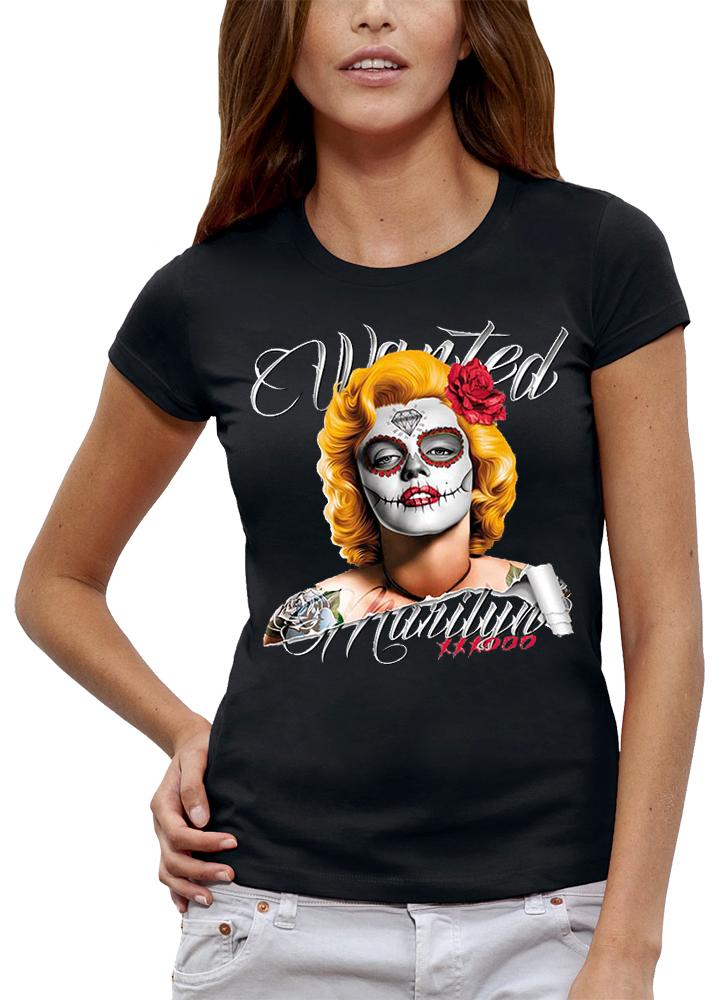 shirt WANTED MARILYN