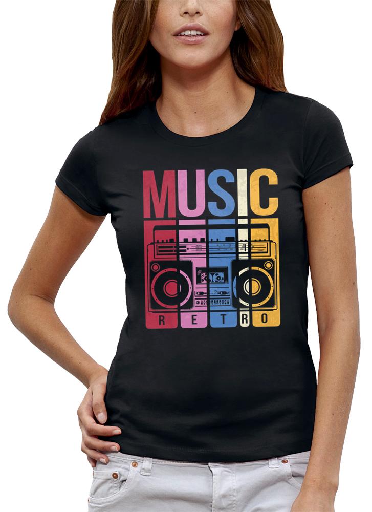 shirt MUSIC RETRO