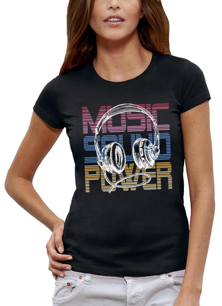 shirt MUSIC SOUND POWER