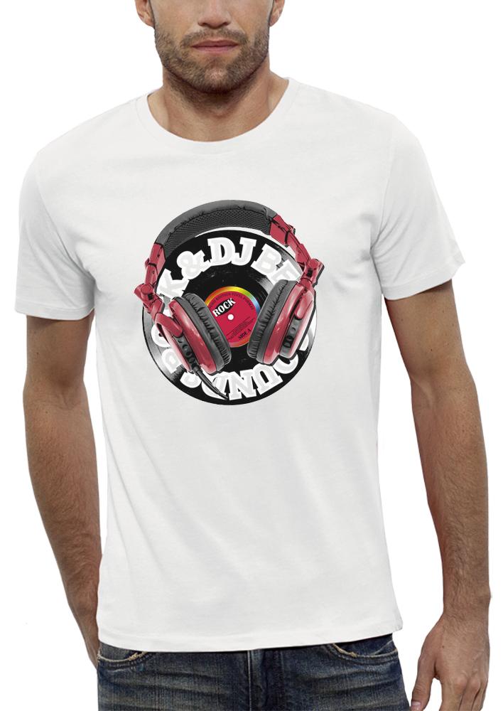 shirt 3D animé casque dj réalité augmentée