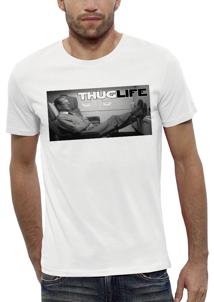 shirt CHIRAC THUG LIFE AVION