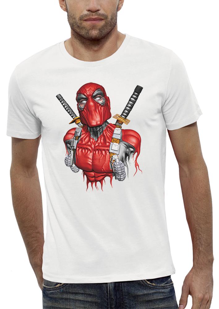 shirt 3D animé deadpool réalité augmentée