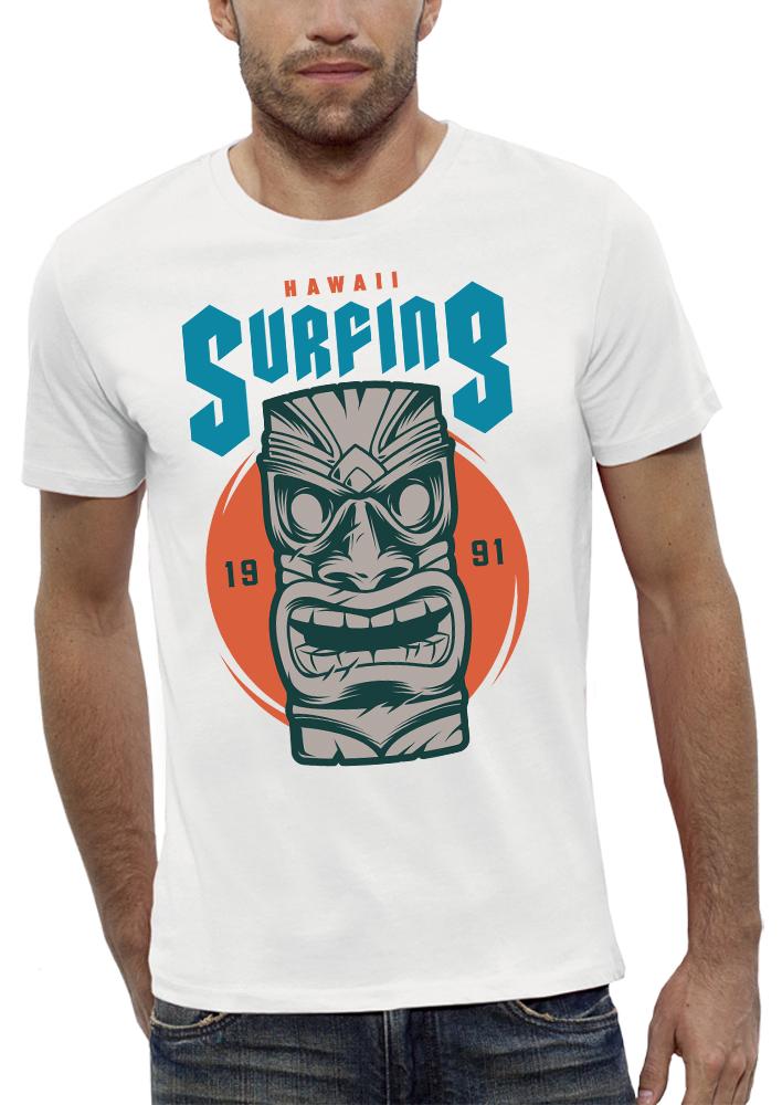 shirt HAWAÏ SURFING