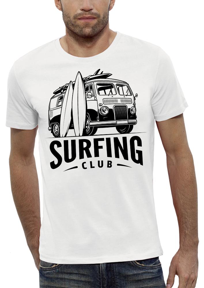 shirt VAN SURFING CLUB
