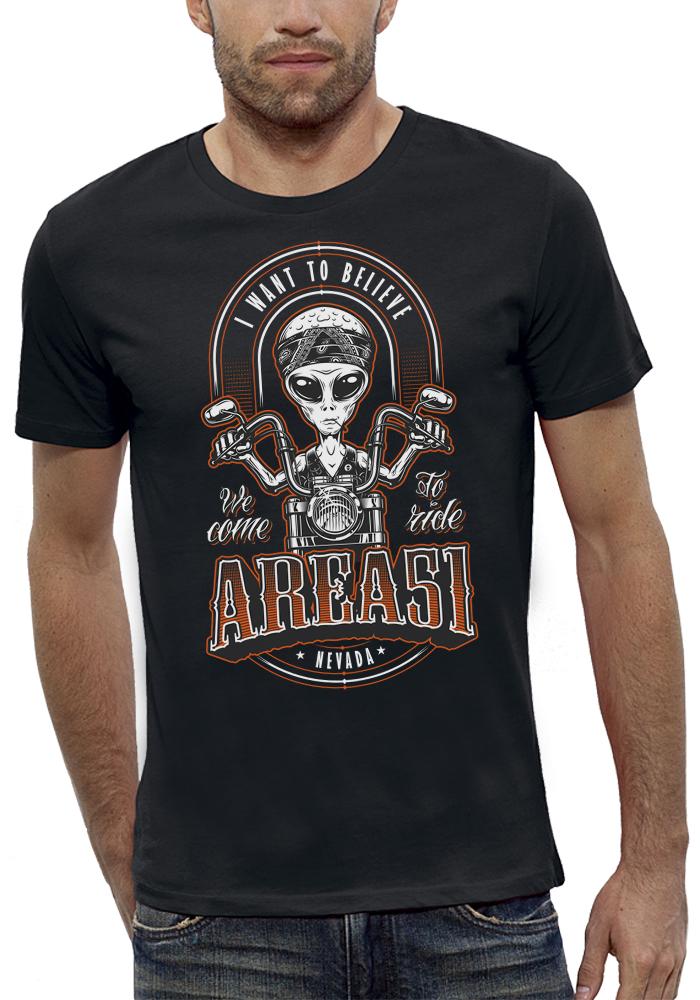shirt ALIEN BIKERS