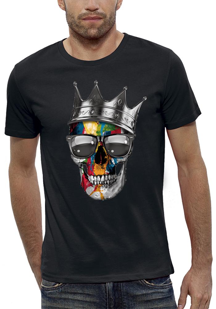 shirt 3D animé CRANE COURONNE ROYAL réalité augmentée