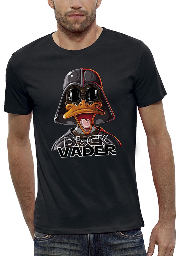 shirt 3D animé duck vader réalité augmentée
