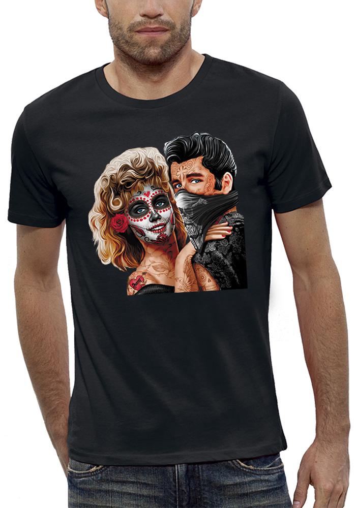 shirt 3D animé dark grease réalité augmentée