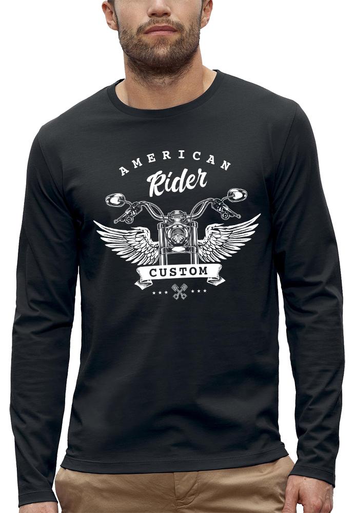 shirt manches longues AMERICAN RIDER