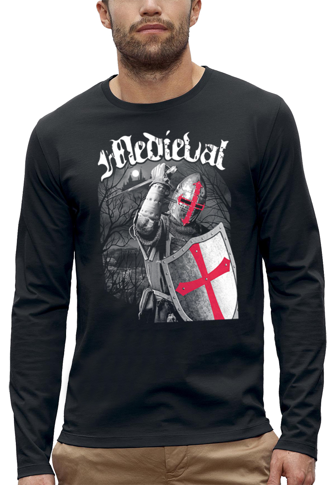 shirt manches longues CHEVALIER MEDIEVAL