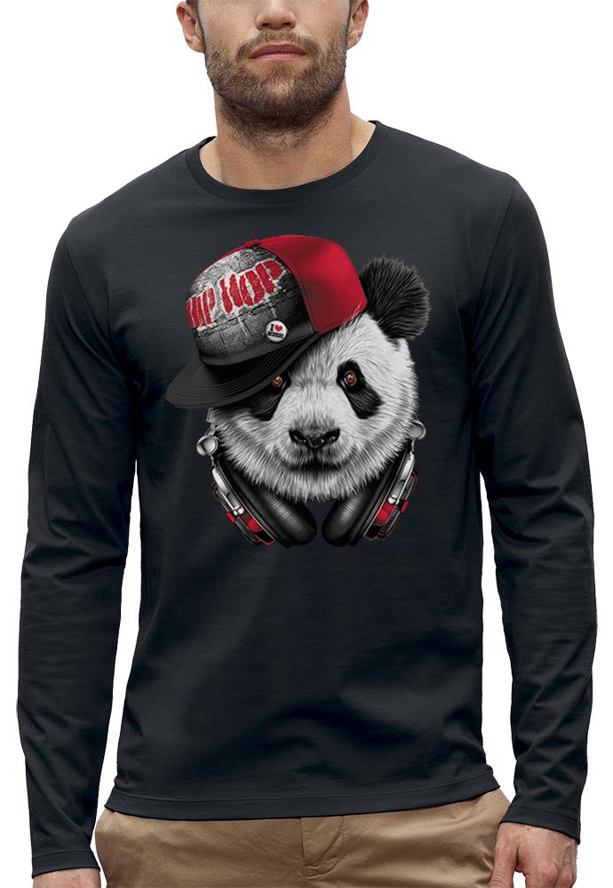 shirt manches longues DJ PANDA HIP HOP